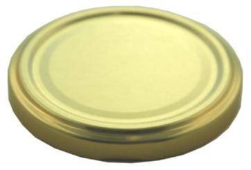 Deckel TO 58 gold