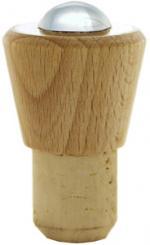 Griffkorken Plastikkappe 19er Kork rot