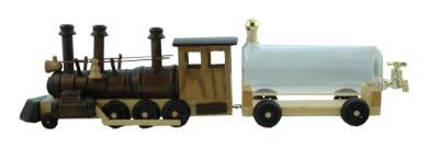 Lokomotive m. Tank 0,5 braun