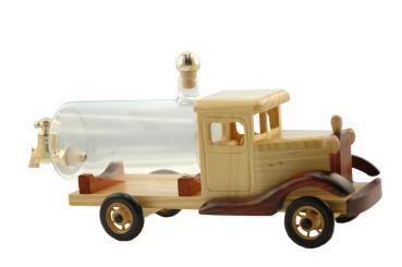 Modell-LKW mittel Holz 0,35