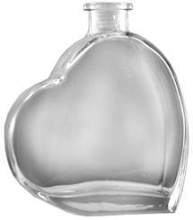 Passion (Herz) 0,1 weiss Aus rechtlichen Gründen nicht für  die kommerzielle Abfüllung von  Spirituosen verwendbar.
