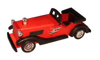 Modell-Automobil  Mercedes Holz 0,2