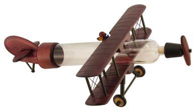 Modell-Doppeldecker Holz 0,35
