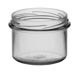 Sturzglas 0,235 l TO82 weiss