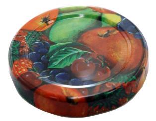 Deckel TO 53 Fruchtmotiv