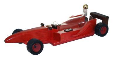 Holz- Modell Rennwagen 0,2