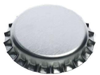 Kronkorken 26mm silber