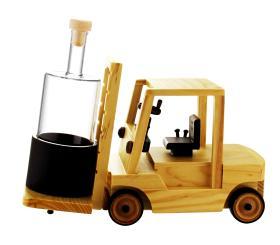 Gabelstapler Holzmodell 0,35