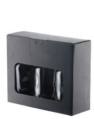Geschenkkarton Nocturne 0,1l 3er Schwarz Pack á 10 Stück