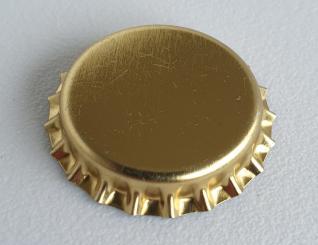 Kronkorken gold 26mm
