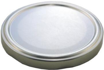 Deckel TO 58 silber esbo-reduziert