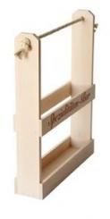 Holz-Spezial-Bar f.4x0,2 Platin ohne Druck mit Kordel