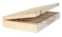 Holz-Koffer 6x0,75 485x310x82