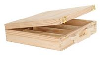 Holz-Koffer 4x0,75 330x310x82