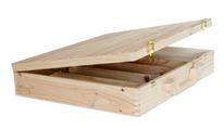 Holz-Koffer 5x0,75 355x410x80