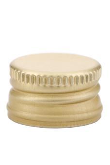 PP28 Schraubverschluss gold - ALU mit Gewinde