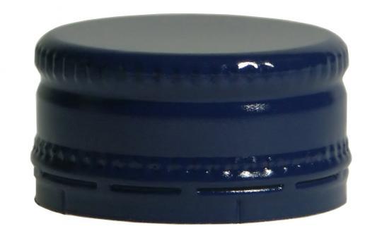 Schraubverschluss kurz MCA 28 x 15 blau Neutral ohne Druck !!!