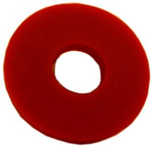 Gummiring rot für Bügelverschluss groß