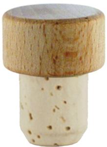 Scheibe natur/roh 19mm HGK