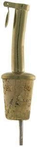Schnapsausgießer mit Klappe 19mm