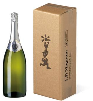 1er Stehbox Magnum Sekt/Wein Umkarton