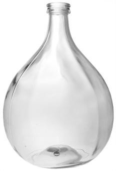 Glasballon 15000ml weiß gebohrt 40mm