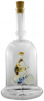 Radfahrer - Flasche 200ml weiß MGB
