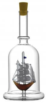 Schiff - Flasche 200ml weiß MGB