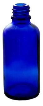 Tropfenflasche 50ml blau DIN18