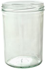 Sturzglas 430ml weiß TO82