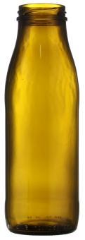 Weithalsflasche 500ml braun TO48