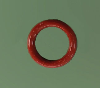 O-Ring Endbuchse/Füllrohr 8,73 x 1,78 rot