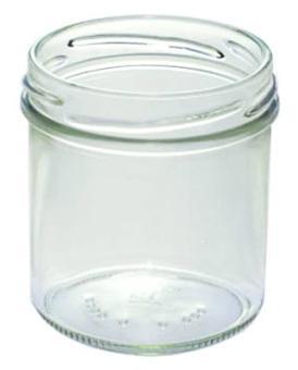 Sturzglas 167ml weiß TO66