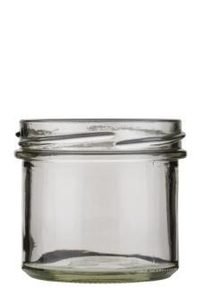 Sturzglas 125ml weiß TO66