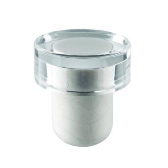 Scheibe T-Aqua transparent 29/15 Bein: weiß 19mm Starlight Korken