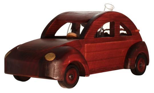 VW Käfer Holzmodell mit Glastank 350ml
