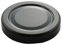Deckel TO82 Deep schwarz - ESBO-reduziert Verwendbar bis 100° Celsius