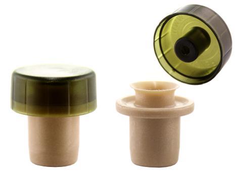 Ausgießer T-Mix grün 19mm