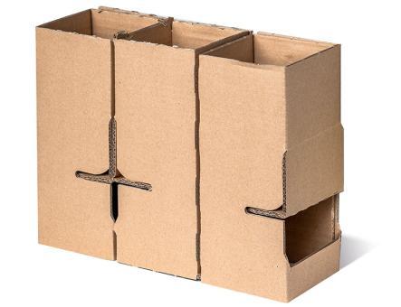 Versandkarton 6x Safety Box Spirit 0,35,0,5,0,7 Noc. (2 x 3er Einlage)