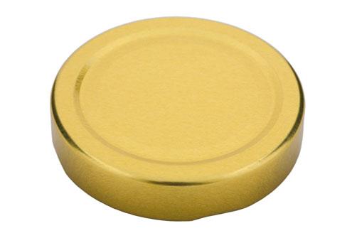 Deckel TO70 deep gold - Für ölhaltige Inhalte geeignet!